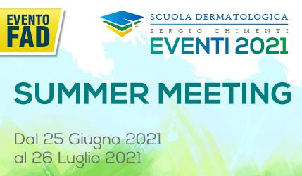 Evento della SDSC 2021 – SUMMER MEETING